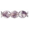 Fire Polished 10mm Crystal/Lavender